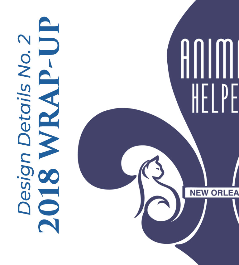 Animal Helper New Orleans Branding Redesign