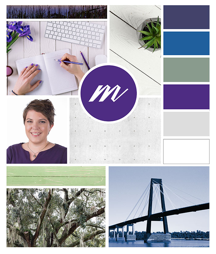 Melismatic Designs LLC Mood Board