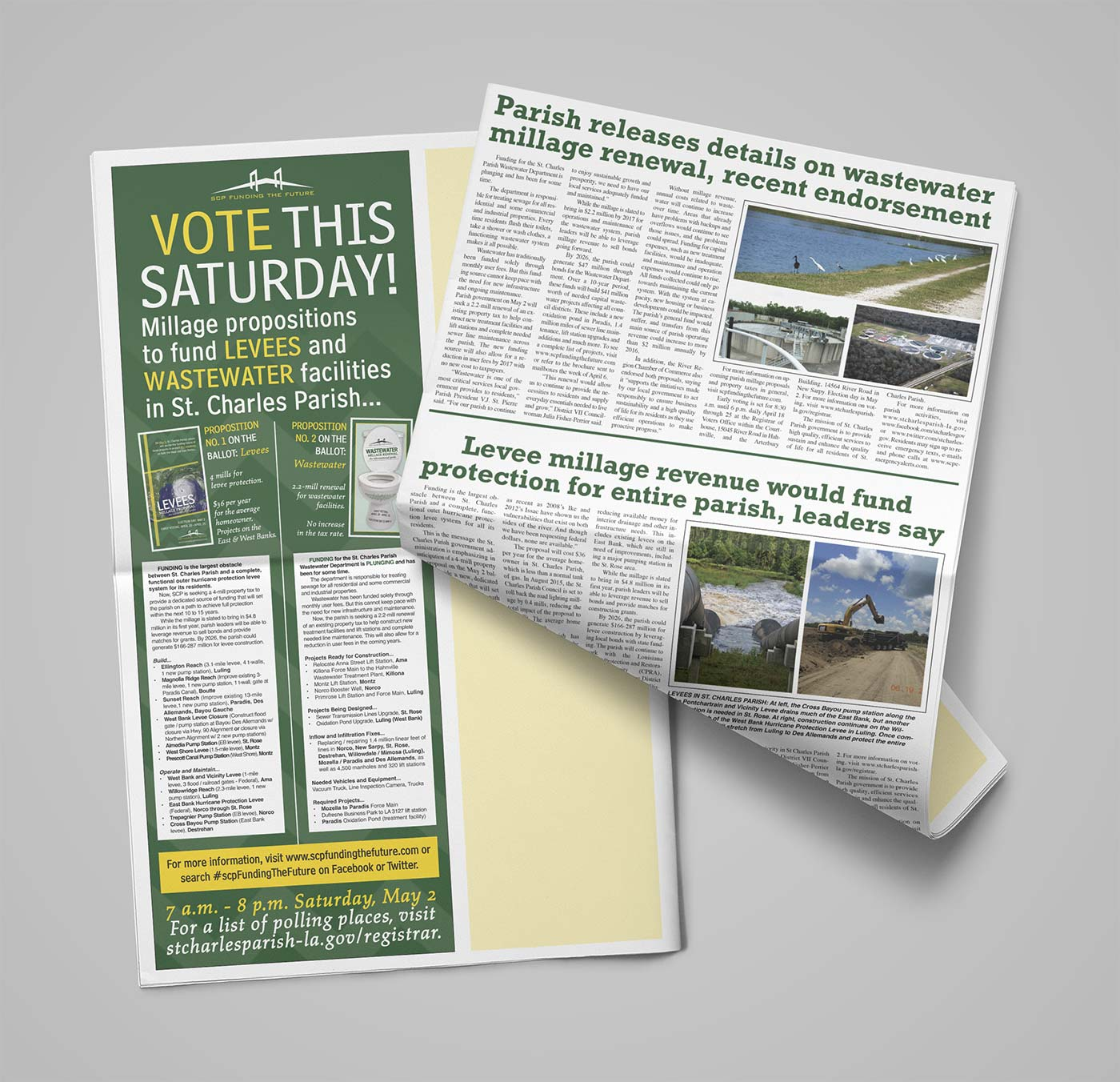 Newspaper Ads by Melismatic Designs LLC